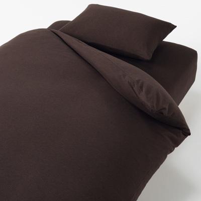 베개 커버 50x70cm용 BROWN MUJI 온라인스토어[www.mujikorea.net]