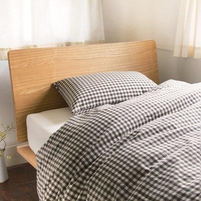 베개 커버 43x63cm용 BROWN CHECK MUJI 온라인스토어[www.mujikorea.net]