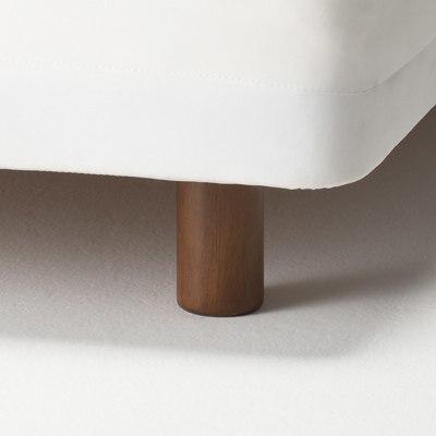 일체형 매트리스용 · 다리 · 12cm타입 · 브라운 MUJI 온라인스토어 ...