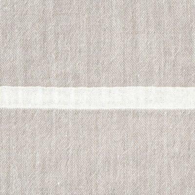 베개 커버 50x70cm용 GRAY BORDER MUJI 온라인스토어[www.mujikorea.net]