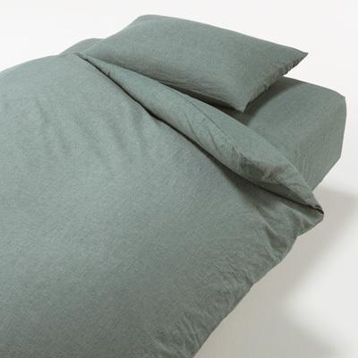 베개 커버 43x100cm용 GREEN MUJI 온라인스토어[www.mujikorea.net]