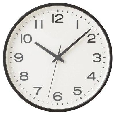 아날로그 시계 · L · 블랙