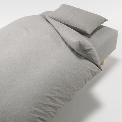 베개 커버 · 43×100cm 용 · 브라운 MUJI 온라인스토어[www.mujikorea.net]