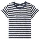 슬러브보더 반소매 티셔츠