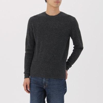 고무뜨기 스웨터