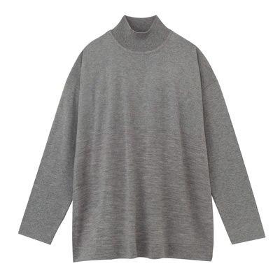 워셔블저지 하이넥 스웨터