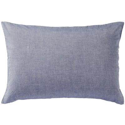 베개 커버 · 50×70cm 용 · 다크 블루 · 워싱면