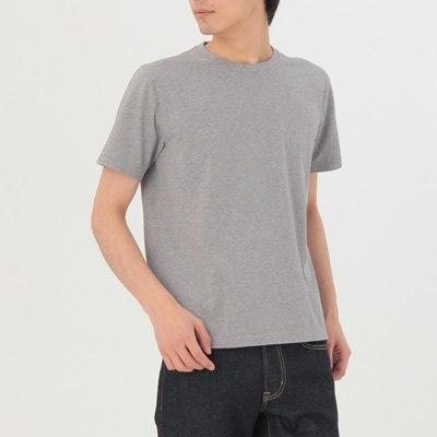 오가닉 코튼 · 크루넥 반소매 티셔츠