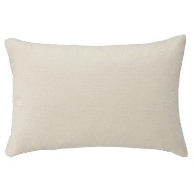 베개 커버 · 50×70cm 용 · 라이트 베이지 · 워싱면