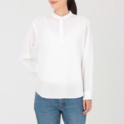 도비 스탠드칼라 셔츠