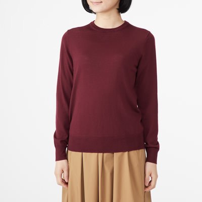 크루넥 스웨터