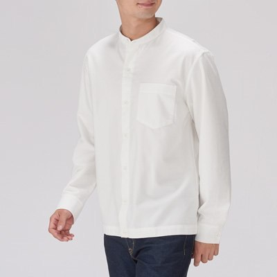 스탠드칼라 셔츠