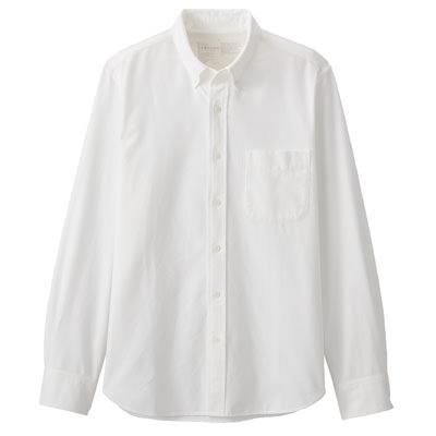 WHITE(버튼다운 셔츠)