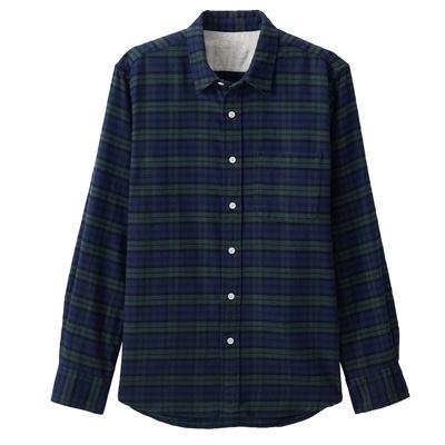 DARK GREEN(체크 셔츠)