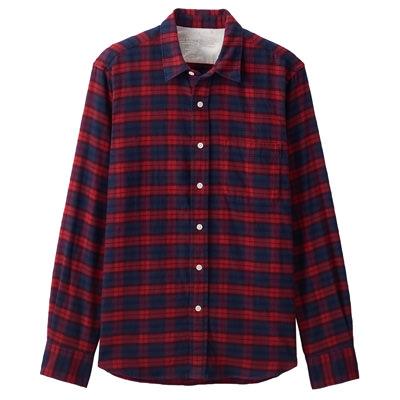 RED(체크 셔츠)