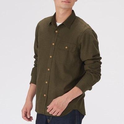 플랩 포켓 셔츠