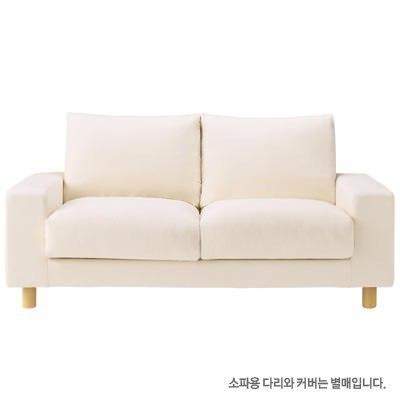 와이드암 소파ㆍ2인용 · 깃털쿠션 2층식ㆍ포켓코일