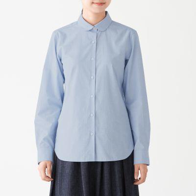 라운드칼라 셔츠