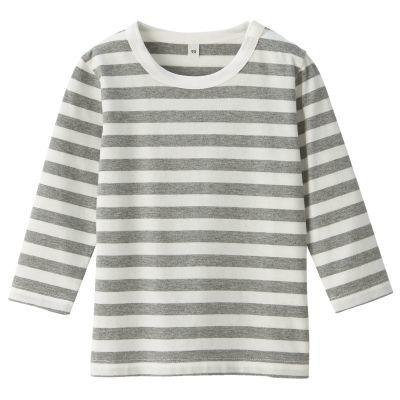 스트라이프 긴소매 티셔츠