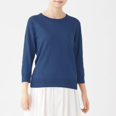 라운드넥 스웨터