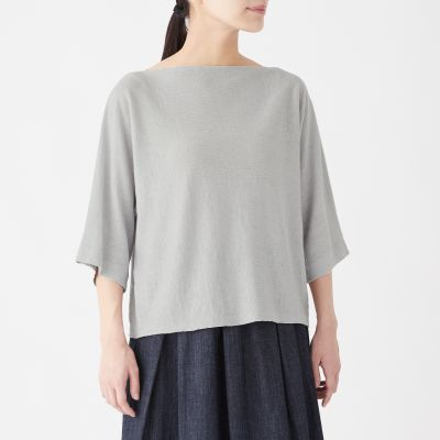 돌먼 슬리브 스웨터