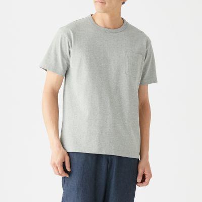포켓 반소매 티셔츠