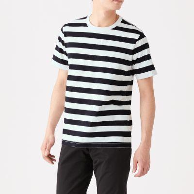 와이드보더 반소매 티셔츠