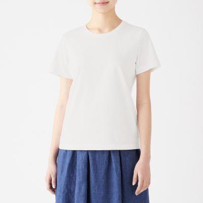 크루넥 반소매 티셔츠