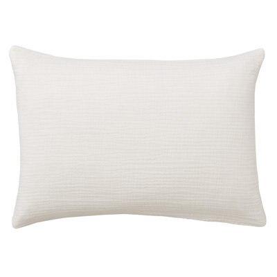 베개 커버 · 43×63 · 오프화이트 · 삼중 가제