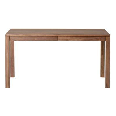 테이블ㆍ서랍 부착ㆍ폭140cm · 호두나무