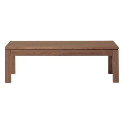 로우 테이블ㆍ서랍 부착ㆍ폭110cm · 호두나무