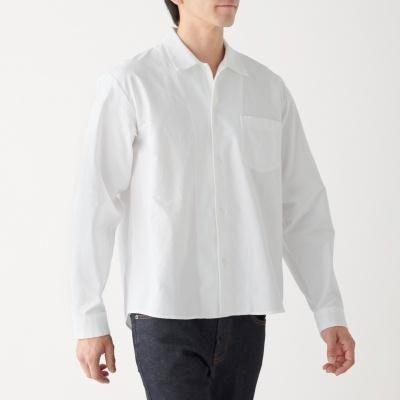 스퀘어 컷 셔츠