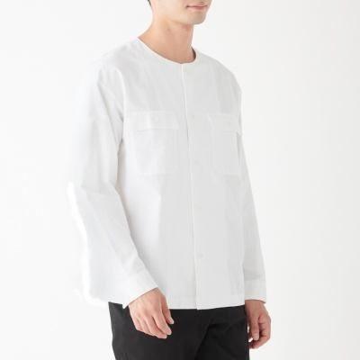 노 칼라 셔츠