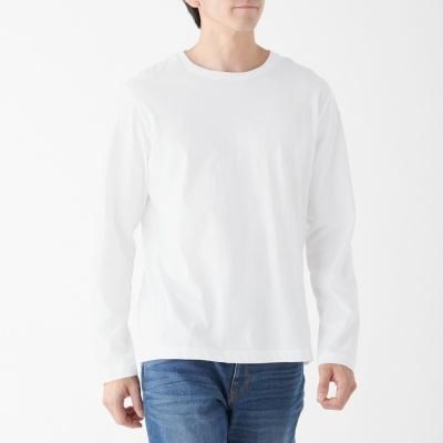 크루넥 긴소매 티셔츠