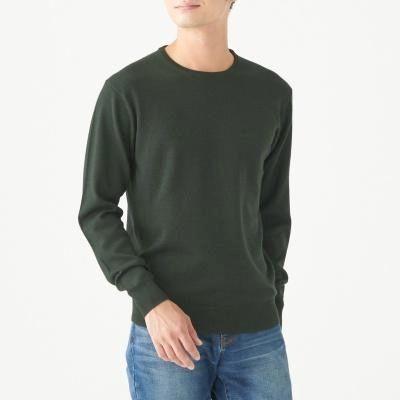하이게이지 크루넥 스웨터