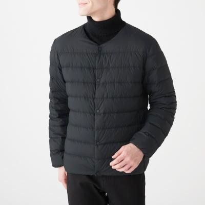 포케터블 노 칼라 재킷