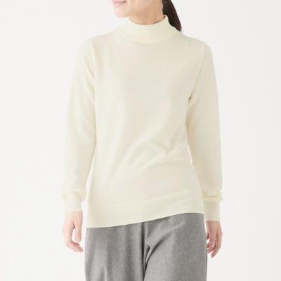 워셔블 하이넥 스웨터