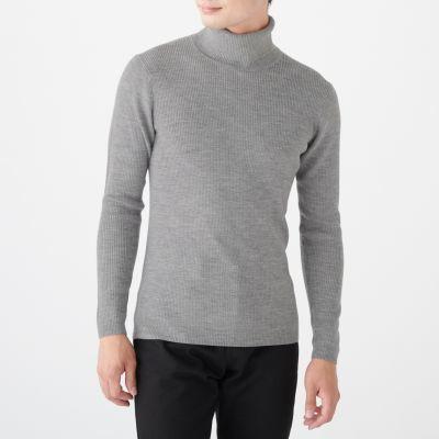 워셔블 터틀넥 스웨터
