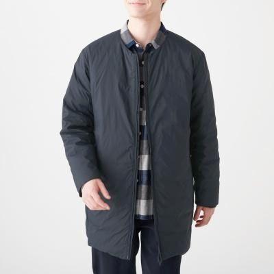 포케터블 노 칼라 코트
