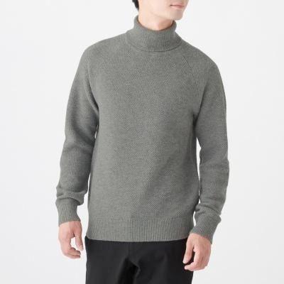 미들게이지 터틀넥 스웨터