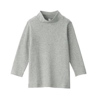 하이넥 긴소매 티셔츠