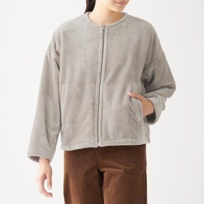 노 칼라 재킷