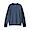 BLUE(슬러브 와플 편직 · 긴소매 티셔츠)