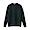 BLACK(코튼 실크 가터 편직 · 크루넥 스웨터)