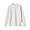 LIGHT SILVER GRAY(코튼 실크 가터 편직 · 크루넥 스웨터)
