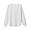 KHAKI BEIGE*BORDER(미니 와플 · 크루넥 긴소매 티셔츠)