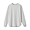 LIGHT SILVER GRAY(미니 와플 · 크루넥 긴소매 티셔츠)