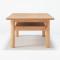 추가이미지1(목제 로우 테이블ㆍ110cmㆍ떡갈나무)