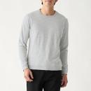 슬러브 저지 · 보더 긴소매 티셔츠