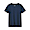DARK NAVY(인도 면 저지 · 크루넥 반소매 티셔츠)